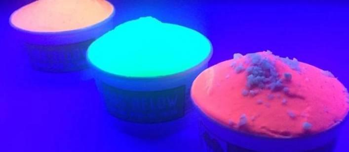 196 Below neon ice cream