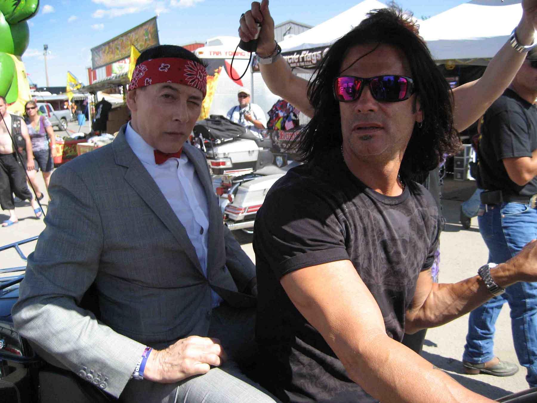 Lorenzo Lamas & Pee-wee Sturgis 2010
