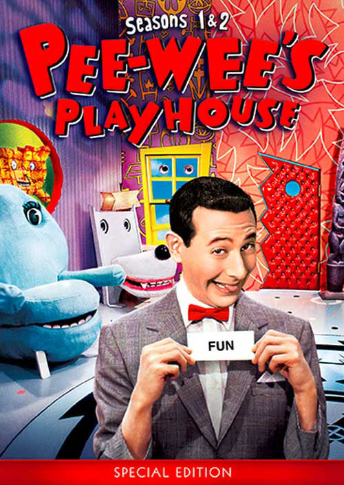 Pee-wee's Playhouse DVD seasons 1 & 2