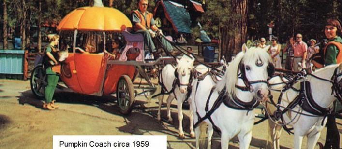pumpkin coach santa's village #4