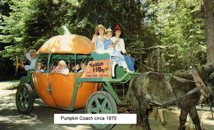 pumpkin coach santa's village #5