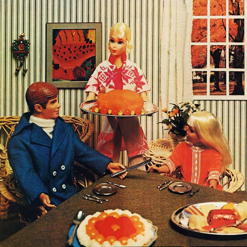 Barbie Thanksgiving 1971