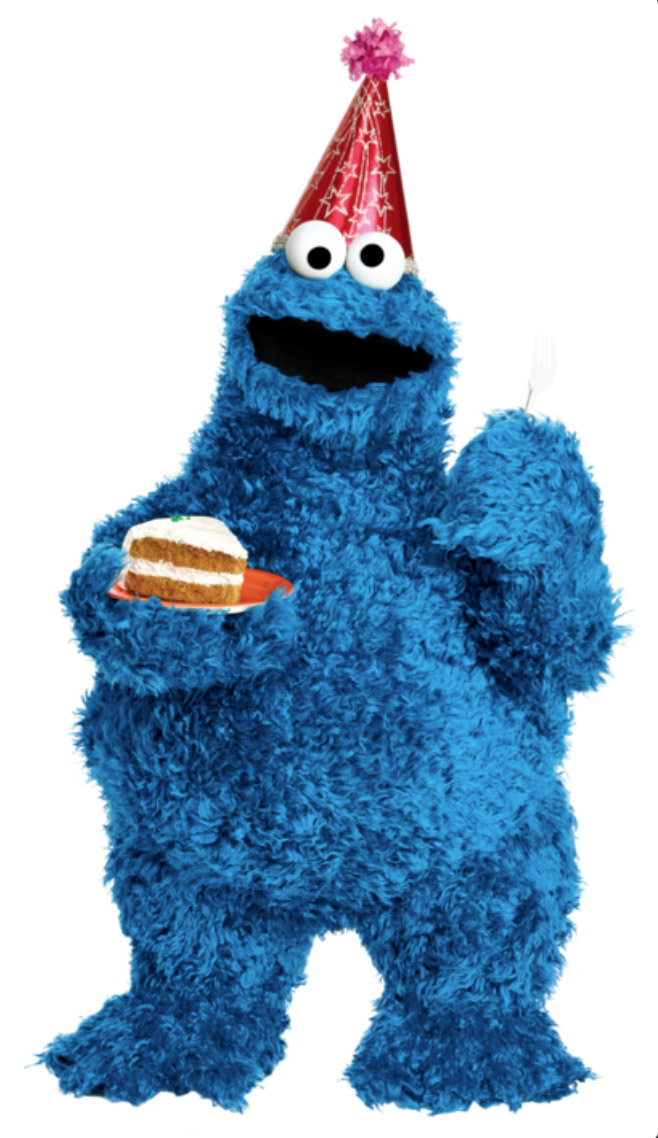 Cookie Monster birthday 1