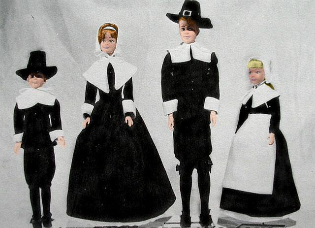 Pilgrim dolls