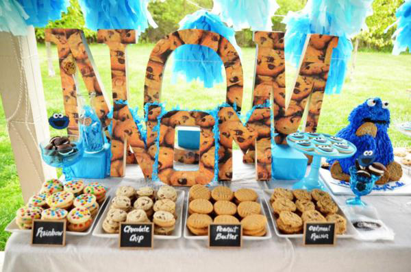 cookie monster birthday 2