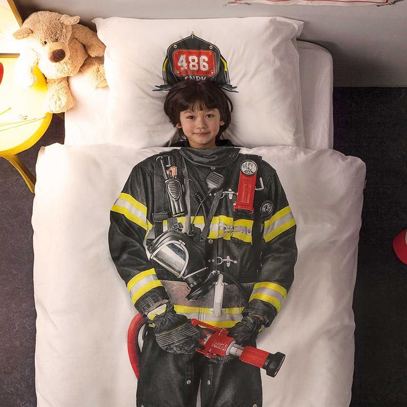 Fireman duvet cover #1