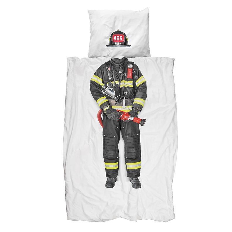 Fireman duvet cover #3