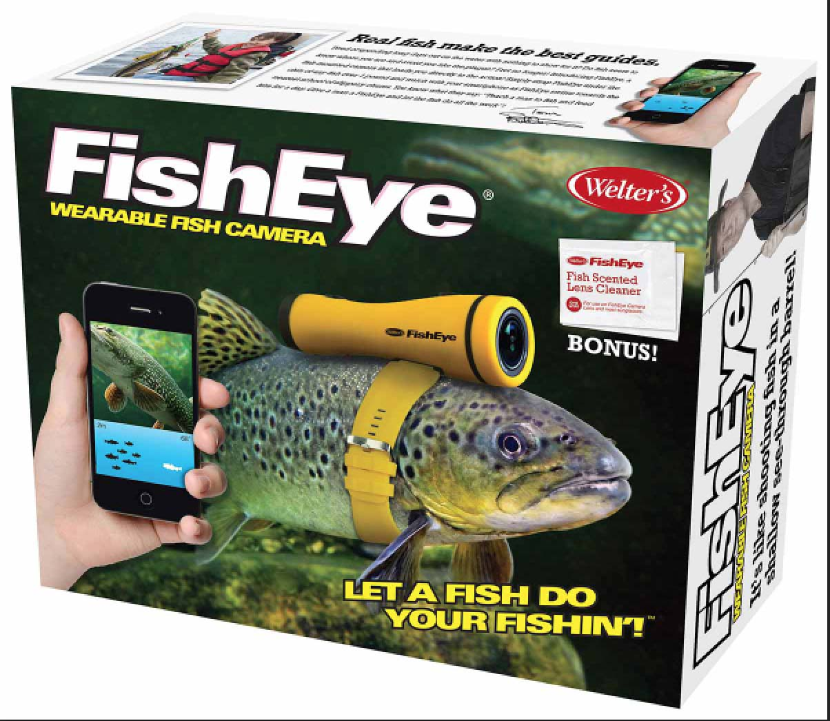 Fisheye the wearable fish camera pee wee 39 s blog for Fish eye camera