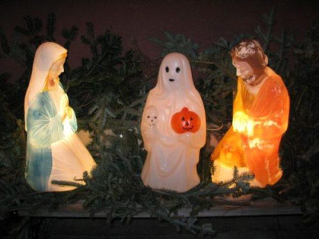 Inappropriate nativity scene #1