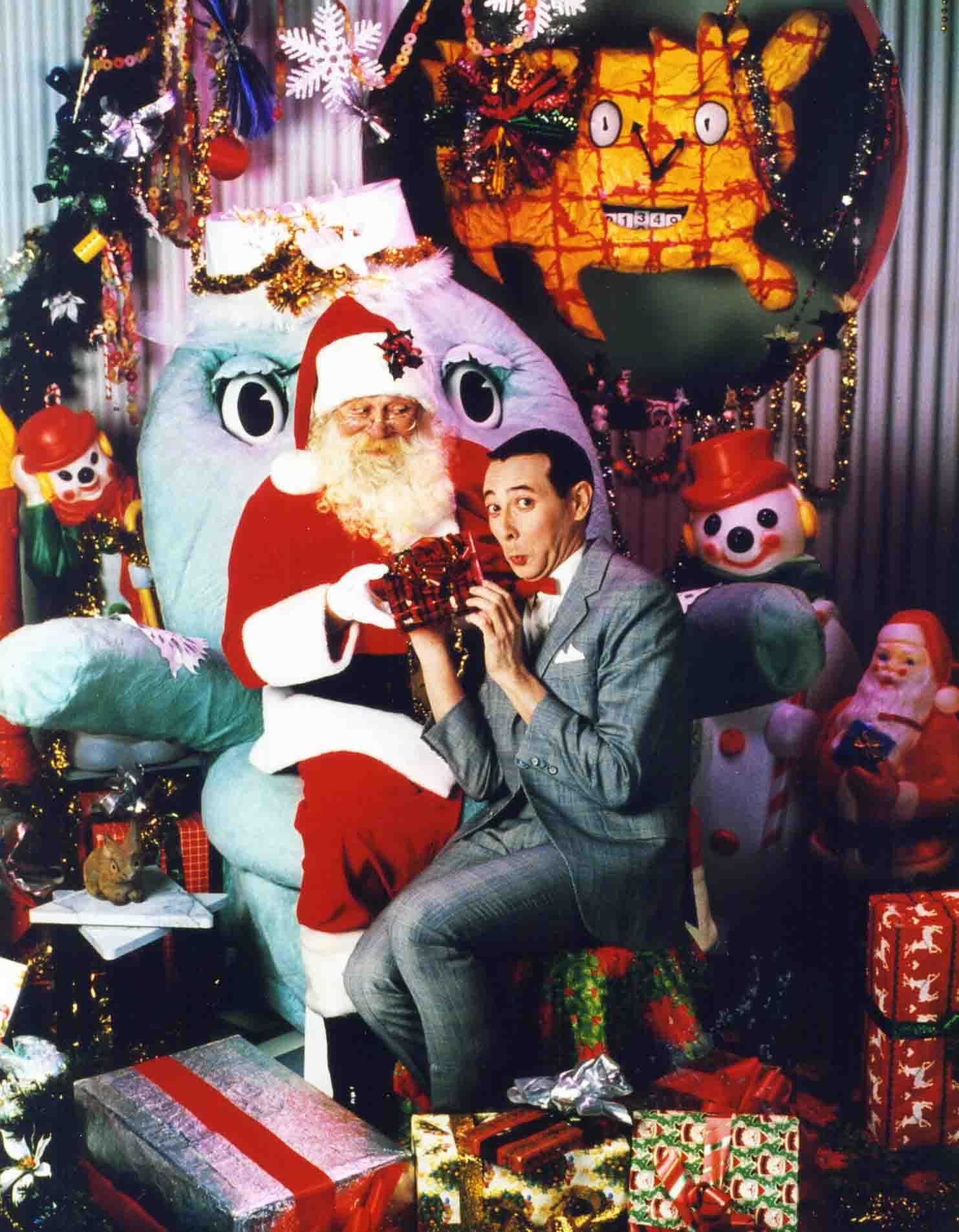 Pee-wee & Santa