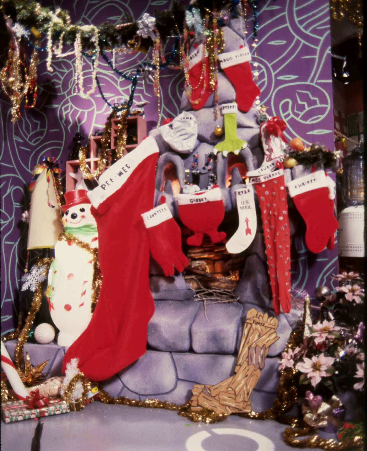 Playhouse characters Christmas stockings