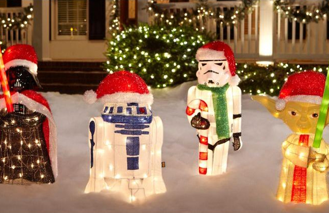Star Wars Lawn Ornaments GROUP
