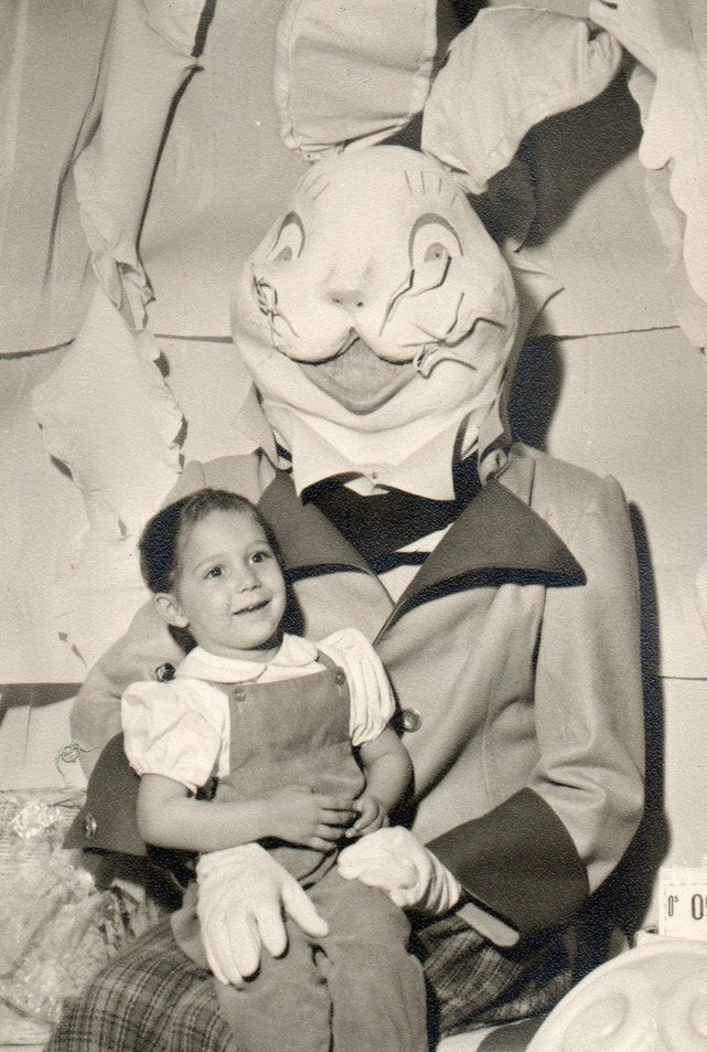 Scary Creepy Easter Bunny by Karen Finlay