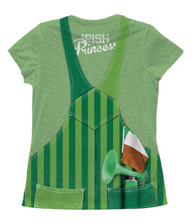Lucky ladies shirt Irish princess
