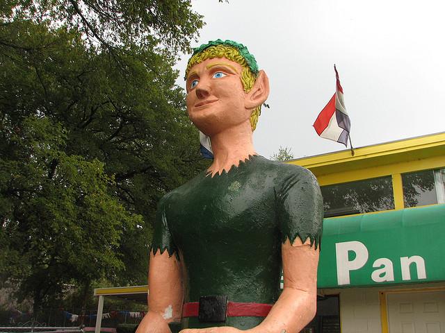 Peter Pan Mini Golf Austin Texas
