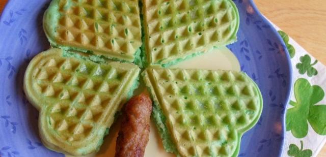 4_leaf_clover_waffles