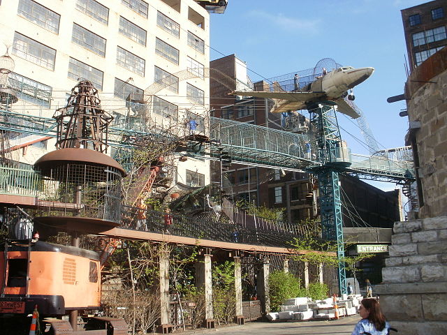 Abandoned Factory Turned Into A Huge 10 Story Playground