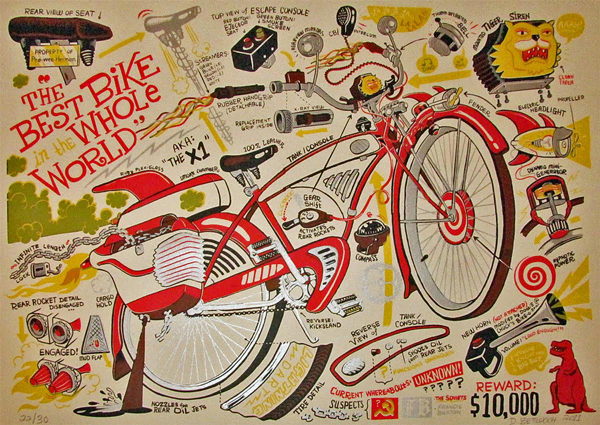 The Best Bike in the Whole World by Dan Zettwoch
