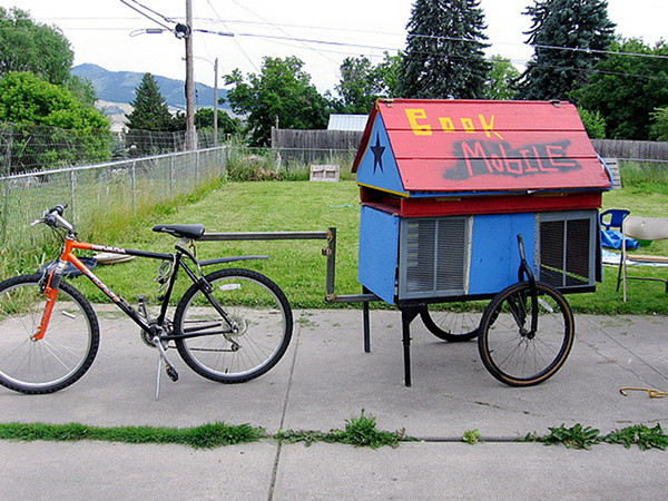 Bike bookmobile