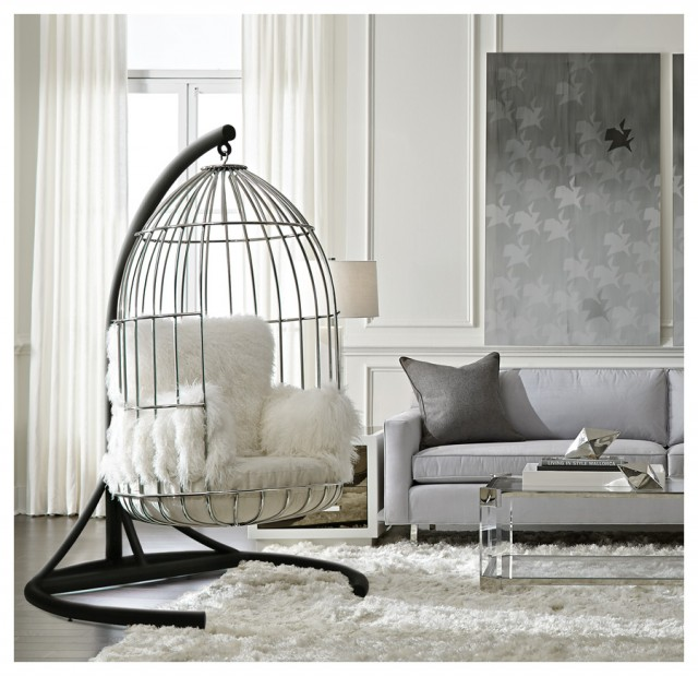Tweet Tweet A Birdcage Hanging Chair Pee Wee S Blog