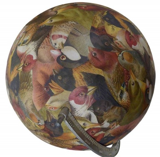 Birds of a feather globe