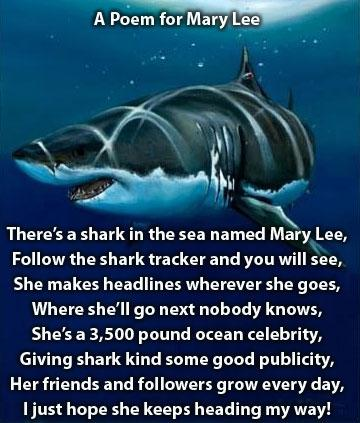mary lee the shark poem