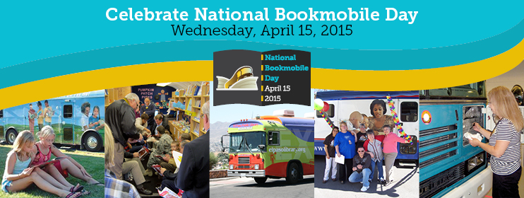 Celebrate National Bookmobile day