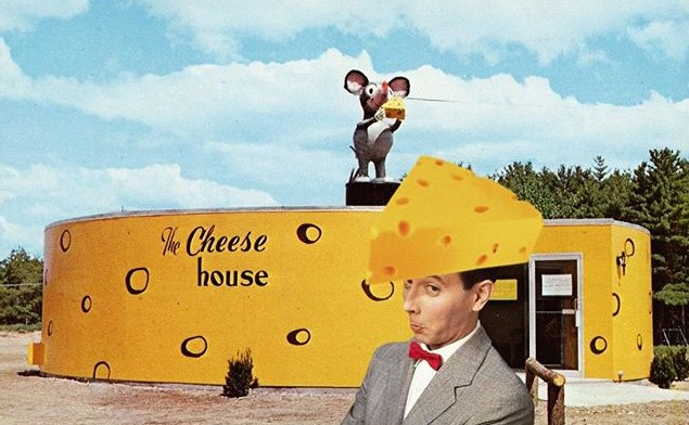 Cheese head Pee-wee