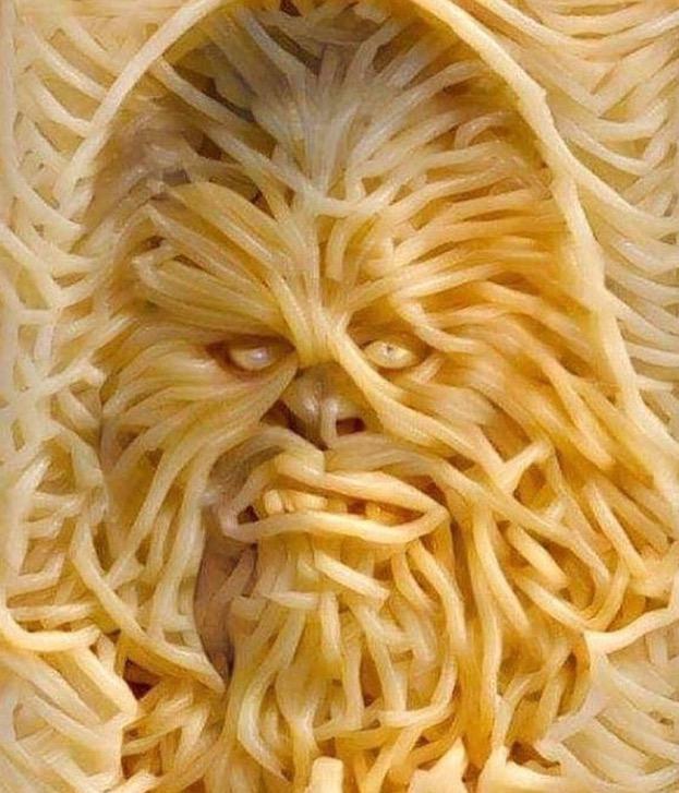 Chewbacca spaghetti
