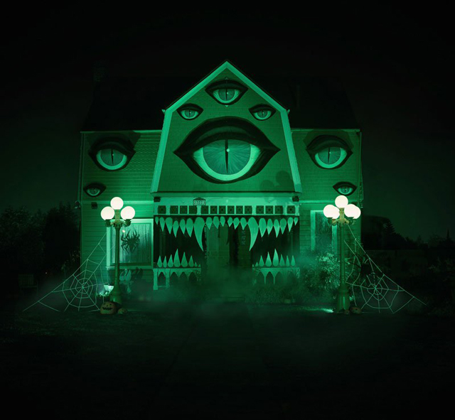 Christine-McConnell-haunted-house-at-night