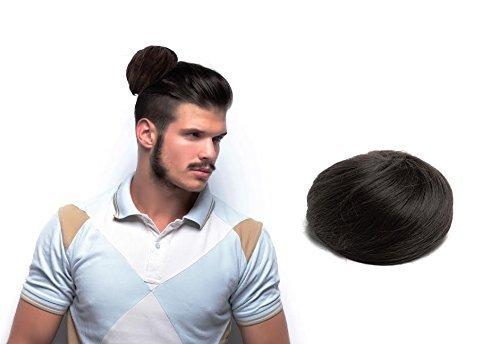 Clip-on man bun