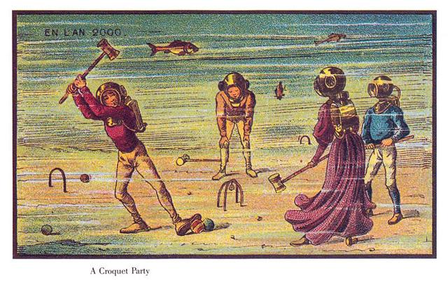 Croquet-party