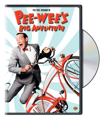 DVD of Pee-wee's Big Adventure