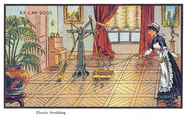 Electric-Scrubbing