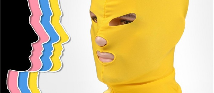 Yellow facekini