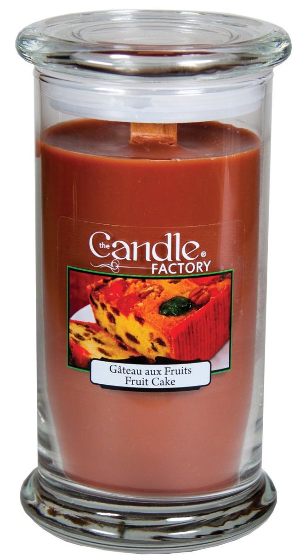 Fruitcake-candle