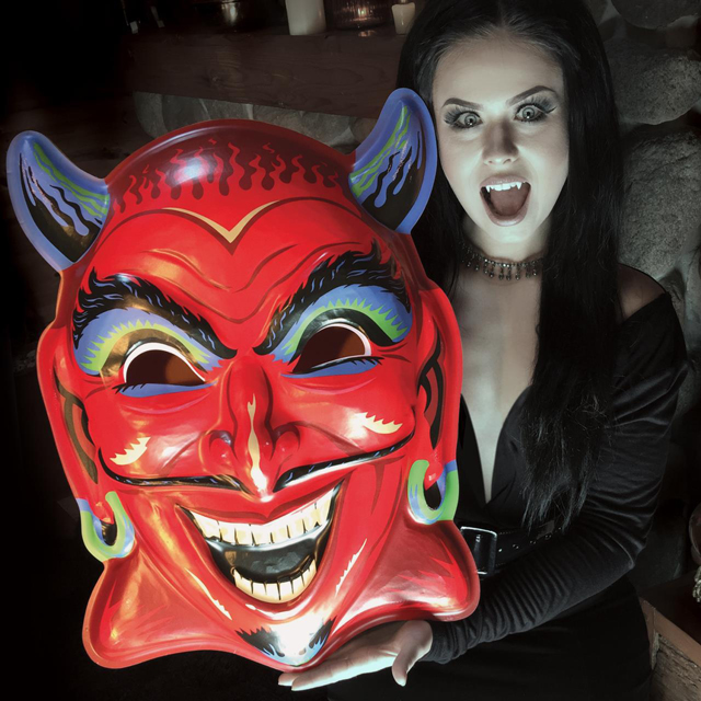 GIANT Vintage-inspired Halloween Masks!! Made in the Spirit of ...
