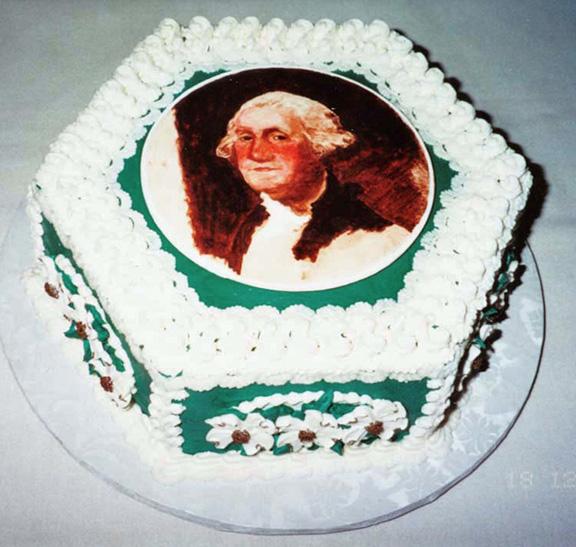 George Washington #2 by Gaby's cakes