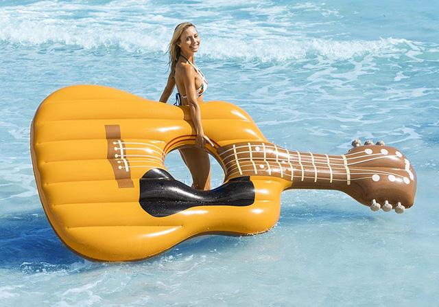 Guitar-pool-raft-soical