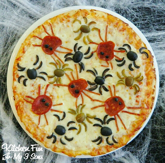halloween-spider-pizza