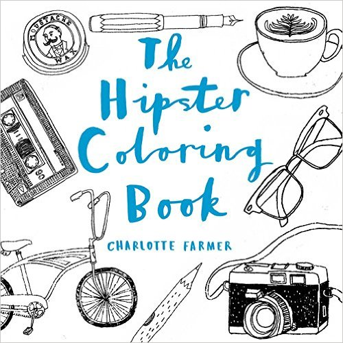 hipster coloring book - Cool Coloring Books