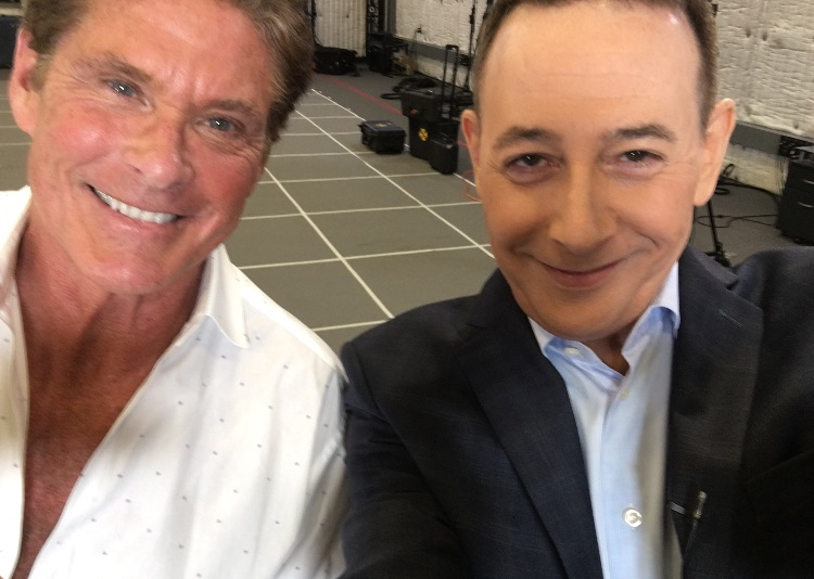 Hoff and Paul Reubens