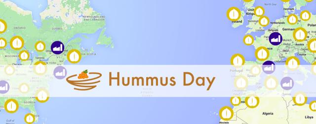 Hummus map