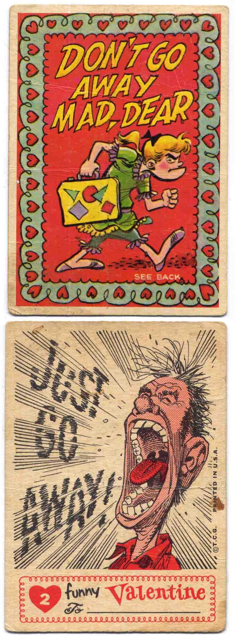 Jack Davis Topps Valentines #2
