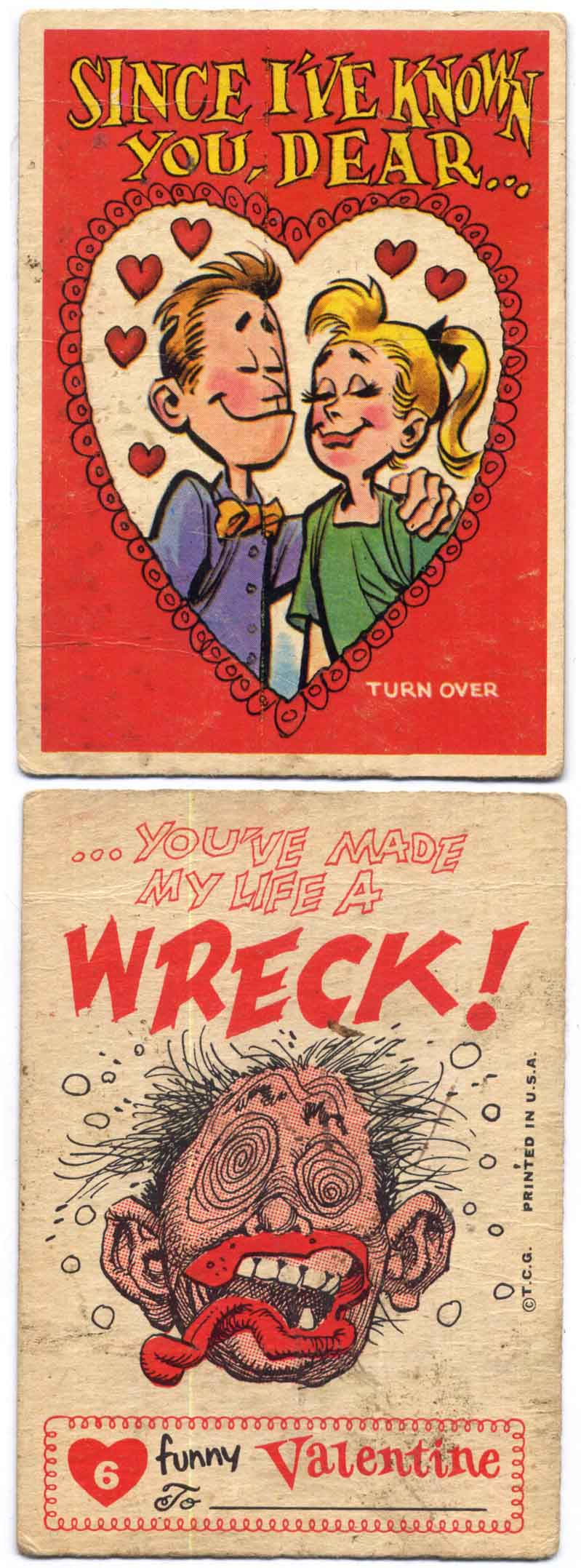 Jack Davis Topps Valentines #4