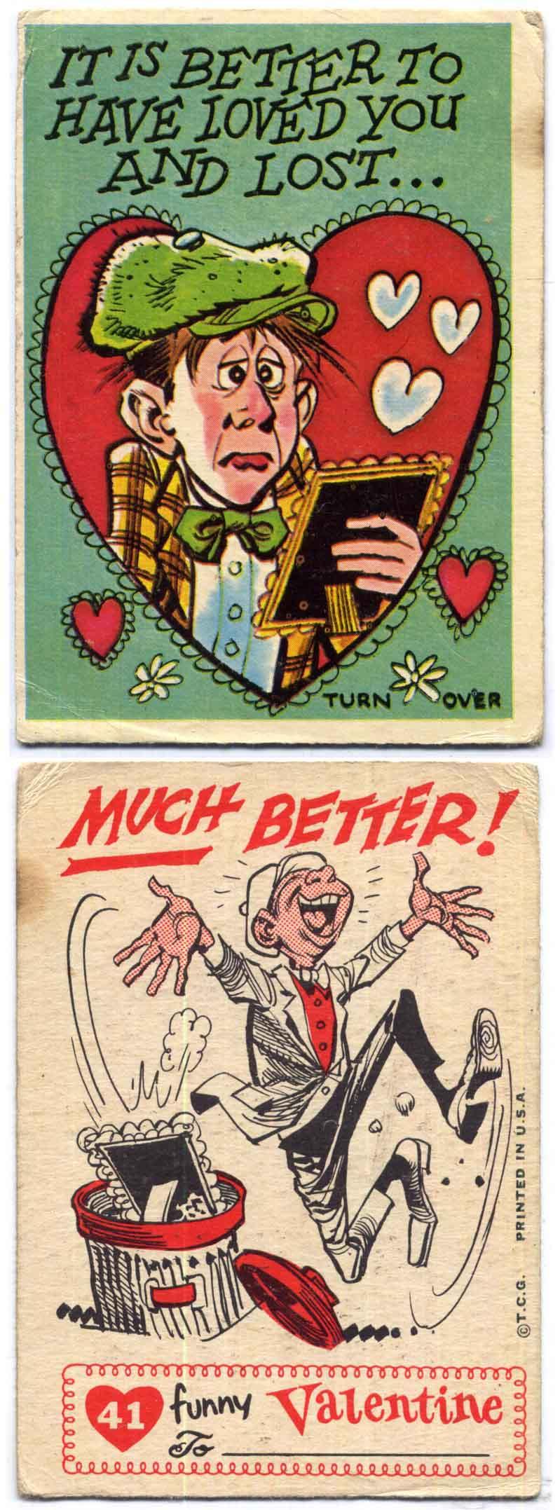 Jack Davis Topps Valentines #5