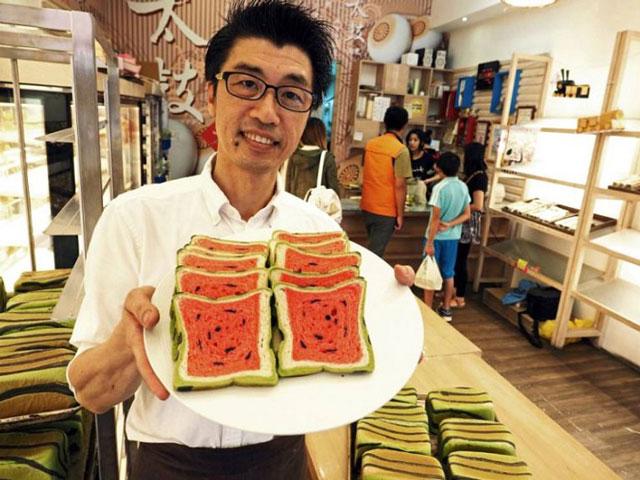 Jimmy's bakery in Taiwan