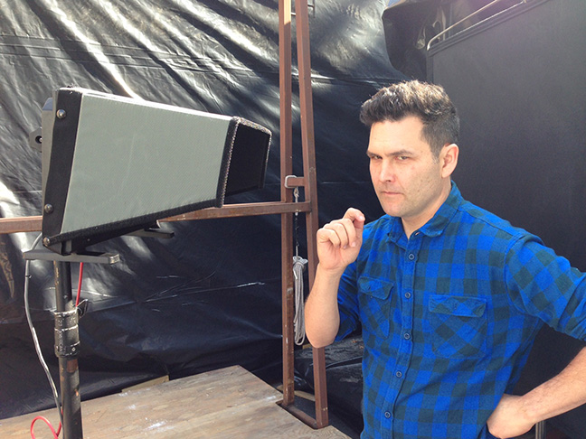 John Lee makeup test Paramount Feb 2015