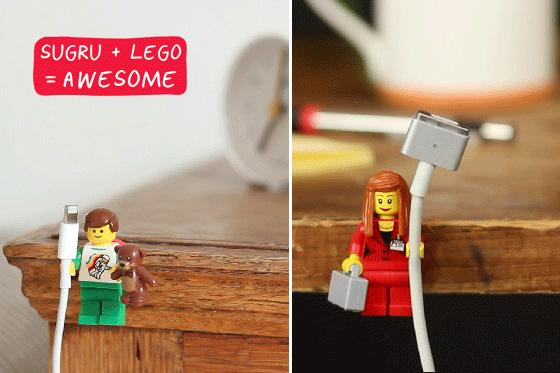 LEGO minifig by Sugru