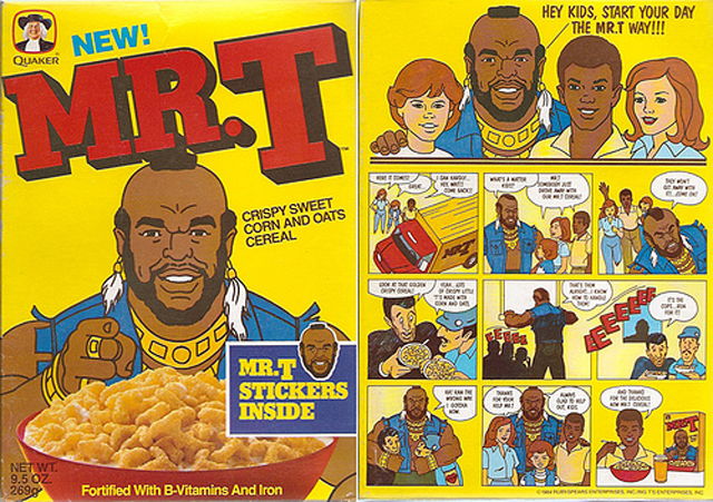 Mr. T cereal by I'm Remembering